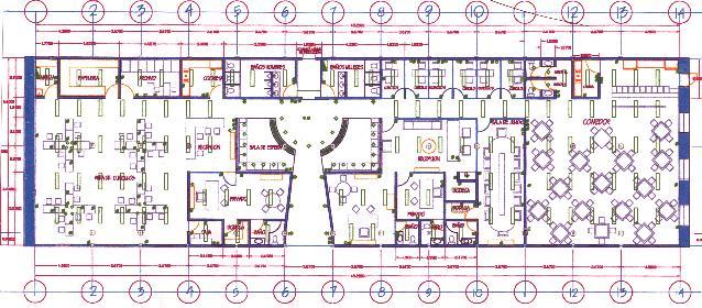 Oficinas covadonga for Oficinas planta arquitectonica